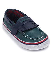 Doink Designer Leather Slip-On Shoes