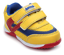 Doink Triple Colour Sports Shoes - Dual Velcro Starp - Size 20