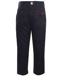 Gini & Jony Black Trouser - 4 Pockets
