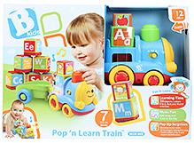 BKids Pop N Learn Train Toy