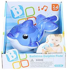 BKids Bath Time Dolphin Flute - Blue