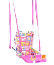Mothertouch Top Swing Pink with Ball Rattle