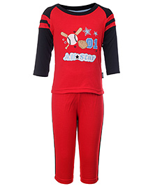 Child World Full Sleeves Embroidered T-Shirt And Legging