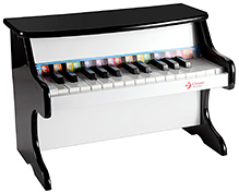 Classic World Wooden Black Piano