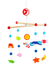 Classic World Wooden Ocean Mobile Hanger