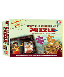 MadRat Chhota Bheem Spot the Difference - Puzzle Plus
