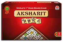 MadRat Aksharit - Worlds 1st Hindi Board Game
