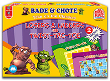 MadRat 9X Losers and Ladders and Twist-Tac-Toe
