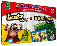 Mad Rat Ludo Leap And Reversi Blast - 2 Games In One