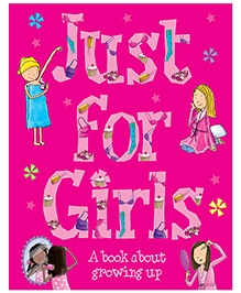 Parragon Just For Girls A Book About Growing Up - English