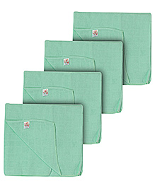 Tinycare Square Baby Nappy Large - Set of 5