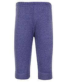 Bodycare Blue Thermal Legging - Plain