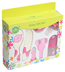 Baby Coo's Blue Baby Gift Set - 7 Pieces