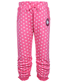 Hello Kitty Polka Dot Gathered Hem Legging