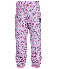 Hello Kitty Printed Gathered Hem Legging