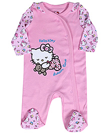 Hello Kitty Full Sleeves Sleep Suit - Kitty Print