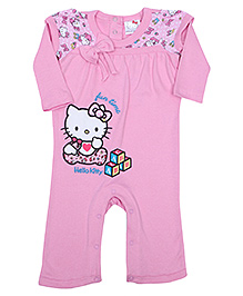Hello Kitty Full Sleeves Romper - Fun Time Print