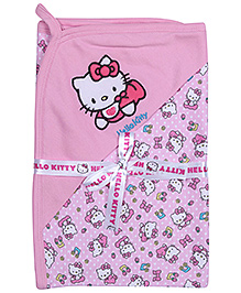 Hello Kitty Light Pink Baby Wrapper - Kitty Print