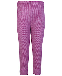 Bodycare Pink Plain Thermal Legging