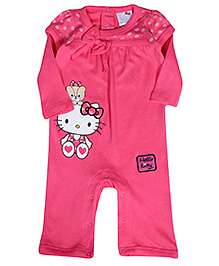 Hello Kitty Full Sleeves Romper - Kitty Print
