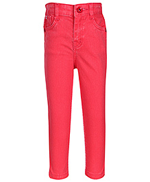 Hello Kitty Full Length Jeans - Red