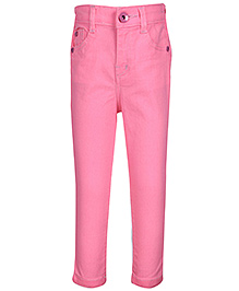 Hello Kitty Full Length Jeans - Pink