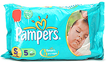 Pampers Diaper Small - 5 pieces
