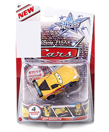 Disney Pixar Cars Jeff Gorvette - Yellow