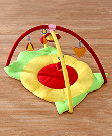 Babyhug Twist N Fold Move N Play Activity Gym Sunflower - Multicolor