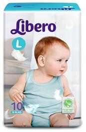 Libero Baby Diaper Large - 10 Pieces