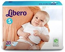 Libero Baby Diaper Small - 20 Pieces