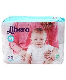 Libero Baby Diaper Medium - 20 Pieces