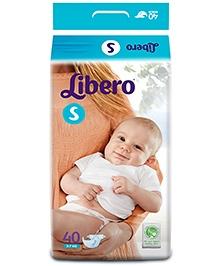 Libero Baby Diaper Small - 40 Pieces