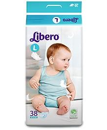 Libero Baby Diaper Large - 38 Pieces