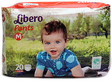 Libero Pant Style Diaper Medium - 20 Pieces