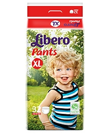 Libero Pant Style Diaper Extra Large - 32 Pieces