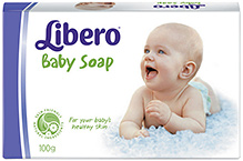 Libero Baby Bar Soap - 100 gm