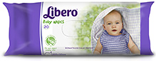 Libero Baby Wet Wipes 20 Pieces