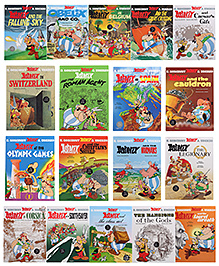 Orion Complete Asterix Box Set - English