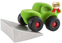 Rubbabu Monster Car With Jumping Track