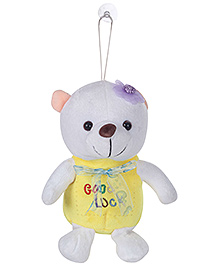 Tickles Good Luck Teddy With Bow Soft Toy