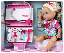 Fisher Price Little Mommy - Interactive Doll Doctor