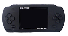 Sameo Wonder Boy Portable Gaming Console - Magical Black