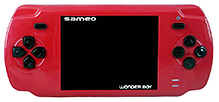 Sameo Wonder Boy Portable Gaming Console - Ruby Red