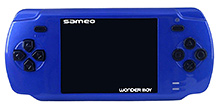 Sameo Wonder Boy Portable Gaming Console - Royal Blue