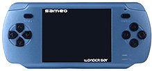 Sameo Wonder Boy Portable Gaming Console - Soft Blue