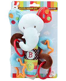 Honey Bunny Activity Squeak Pal Elephant