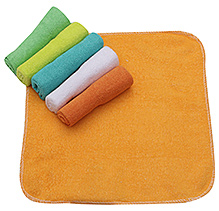 Honey Bunny Baby Washcloths - Pack Of 6