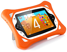 Kidzstar 2 In 1 Android Tablet - Orange