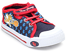 Tom and Jerry Casual Canvas Shoes - Tom And Jerry Print